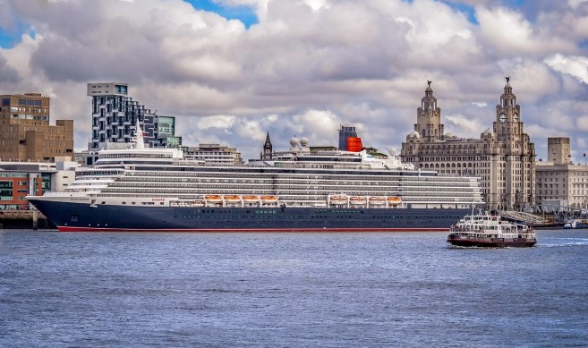 See Cunard's Queen Elizabeth from our River Explorer Cruise